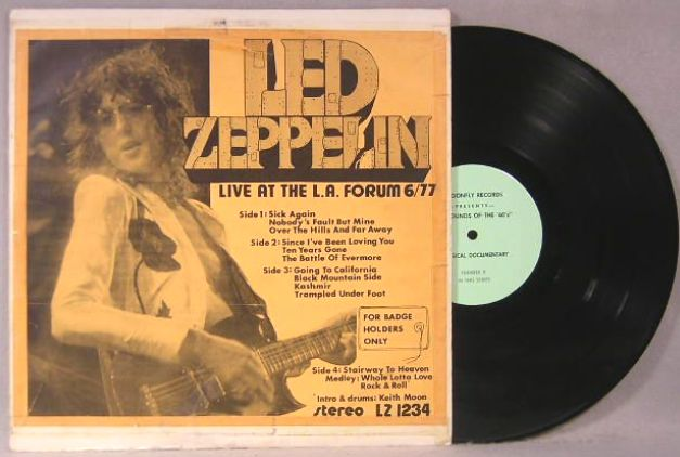 Dragonfly Lz 1234 7 Led Zeppelin For Badge Holders Only