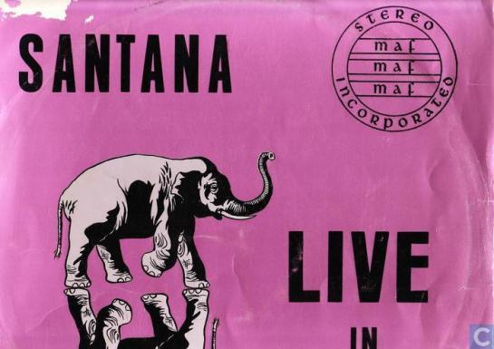 Santana Live Rotterdam orig. pink 2