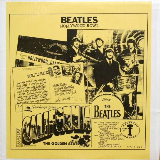 Beatles Hollywood Bowl vol 11