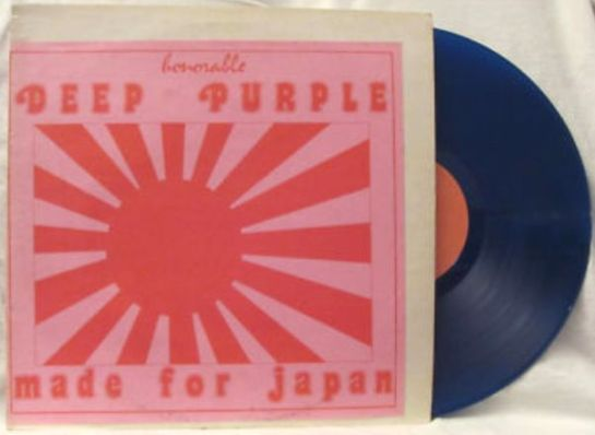 Deep Purple Made for Japan blue