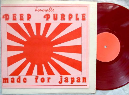 Deep Purple Made For Japan red