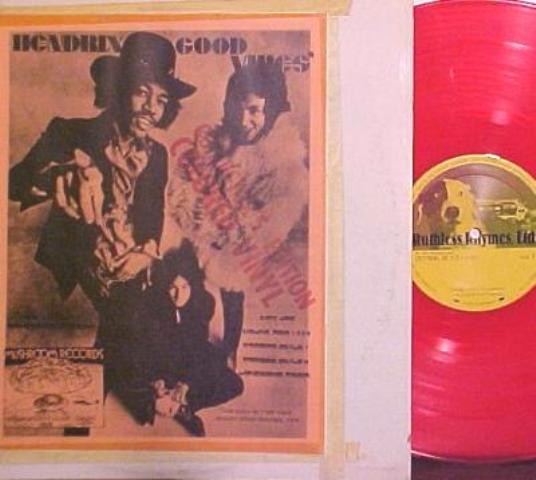 Hendrix Good Vibes red