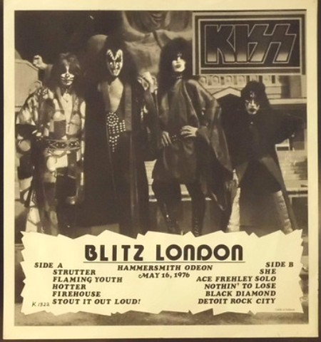 Kiss Blitz London