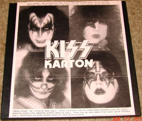 KISS KARTON cover