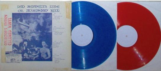Led Zep Blueberry H w lbl