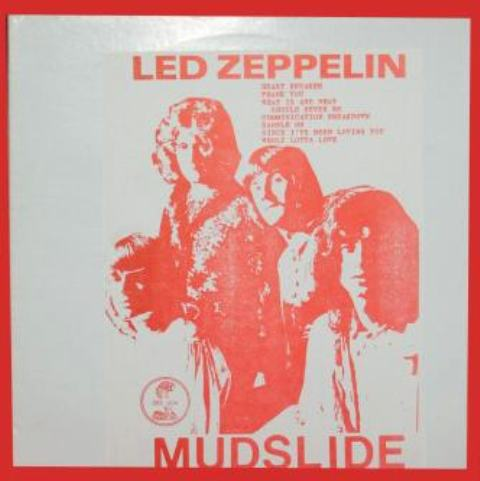 Led Zep Mudslide red