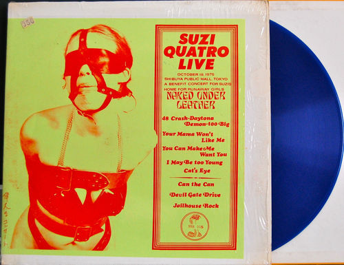 Quatro S Naked Under Leather blue