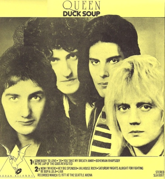 Queen duck-soup