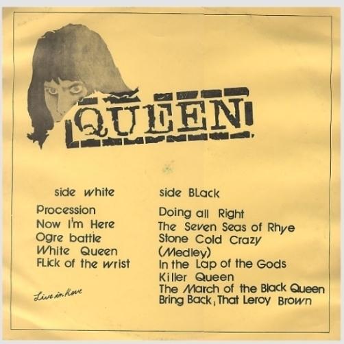 Queen Live Kove orig