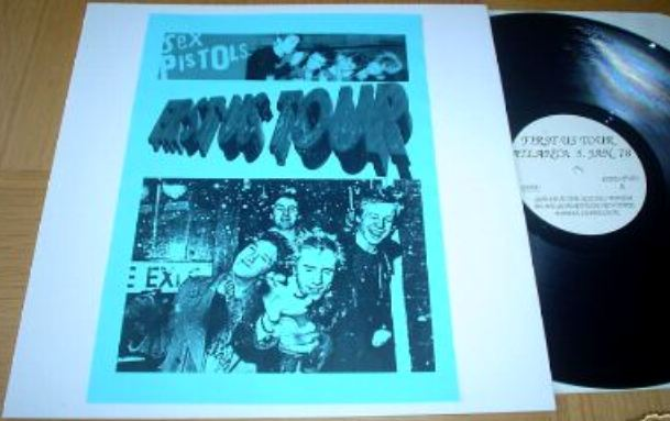 The Sex Pistols' US Tour in Vinyl Bootlegs: 'FIRST US ShOW!': ODD TWO / 'ROT-N-ROLL':K&S 023 / 'PISTOLS SHOCK USA!' / 'Welcome To the Rodeo': SP 2800 / 'GUN CONTROL': SP 2900 / 'SEX PISTOLS FILE' 4 LP Box (3/6)