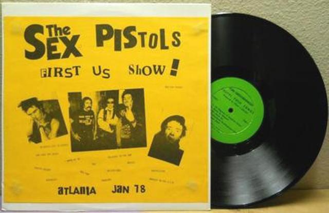 The Sex Pistols' US Tour in Vinyl Bootlegs: 'FIRST US ShOW!': ODD TWO / 'ROT-N-ROLL':K&S 023 / 'PISTOLS SHOCK USA!' / 'Welcome To the Rodeo': SP 2800 / 'GUN CONTROL': SP 2900 / 'SEX PISTOLS FILE' 4 LP Box (2/6)