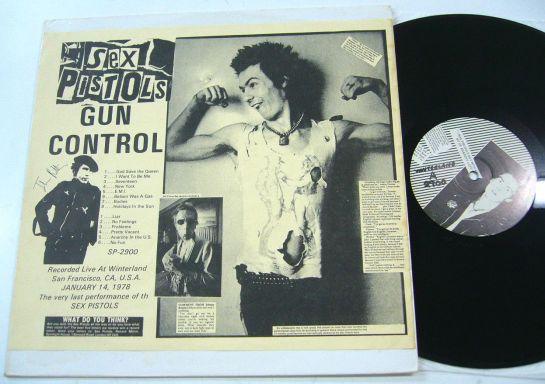 Sex Pistols Gun Control last 1