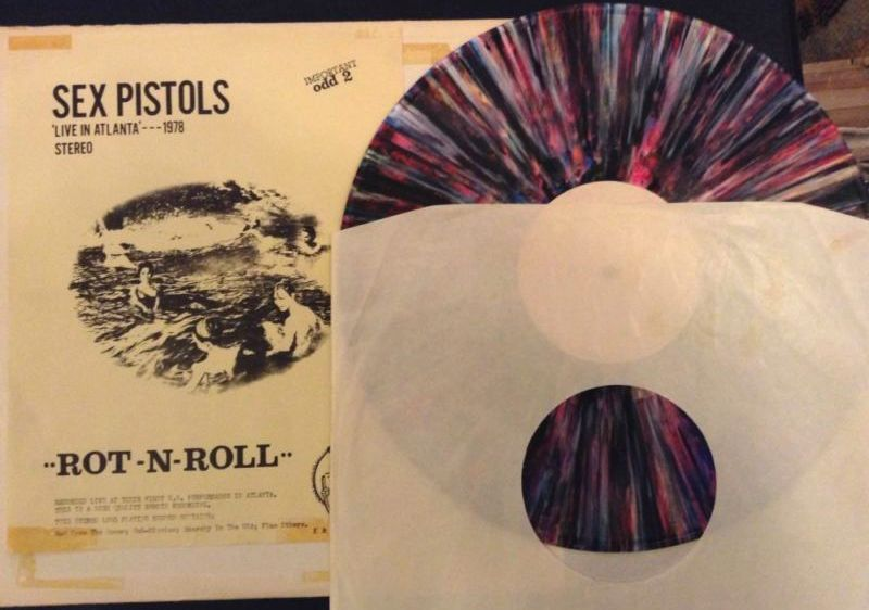 The Sex Pistols' US Tour in Vinyl Bootlegs: 'FIRST US ShOW!': ODD TWO / 'ROT-N-ROLL':K&S 023 / 'PISTOLS SHOCK USA!' / 'Welcome To the Rodeo': SP 2800 / 'GUN CONTROL': SP 2900 / 'SEX PISTOLS FILE' 4 LP Box (5/6)