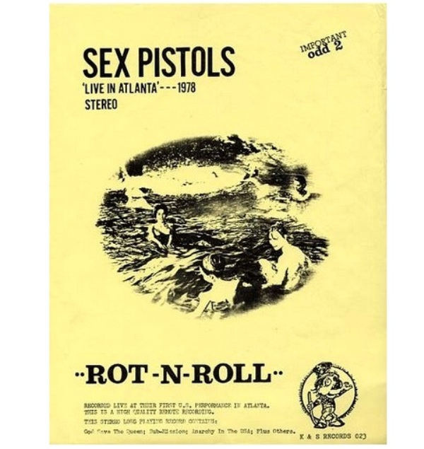The Sex Pistols' US Tour in Vinyl Bootlegs: 'FIRST US ShOW!': ODD TWO / 'ROT-N-ROLL':K&S 023 / 'PISTOLS SHOCK USA!' / 'Welcome To the Rodeo': SP 2800 / 'GUN CONTROL': SP 2900 / 'SEX PISTOLS FILE' 4 LP Box (4/6)