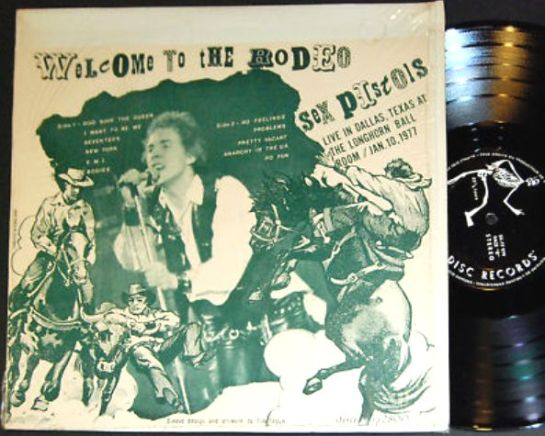 Sex Pistols Welcome To The Rodeo 2
