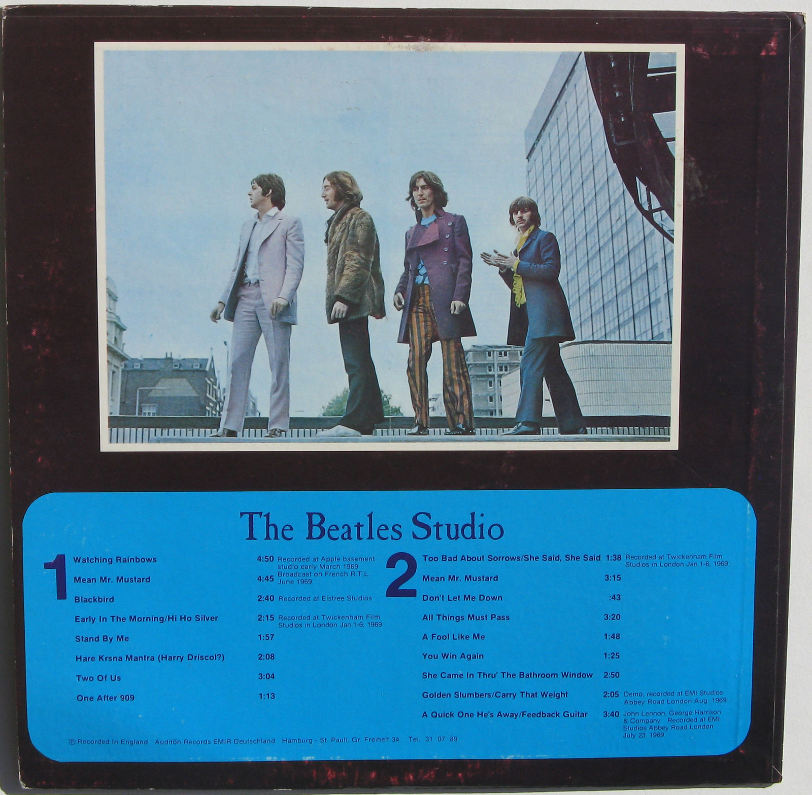 She Came Through The Bathroom Window Lyrics: The 4th 'wave' Of Beatles Get Back Sessions Outtakes