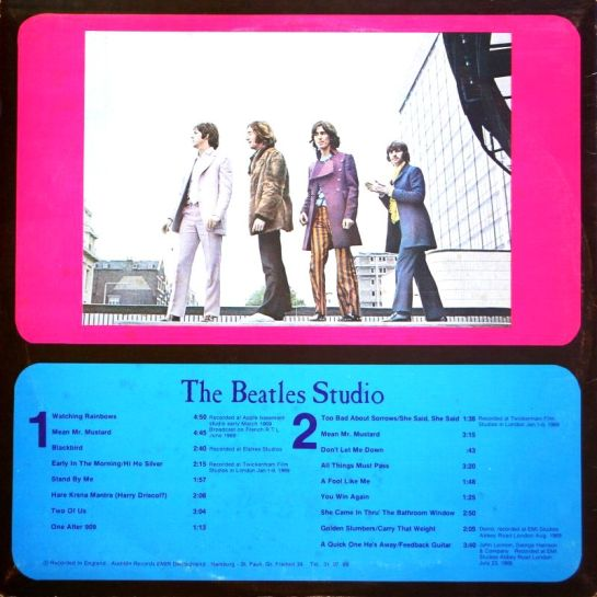 Beatles WR LP b pink