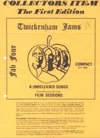 Beatles_twickenham-jams-1ste_sheet