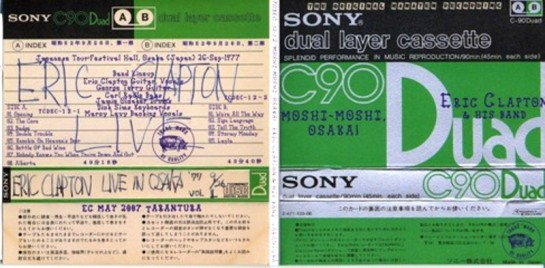 Clapton Moshi Moshi Osaka