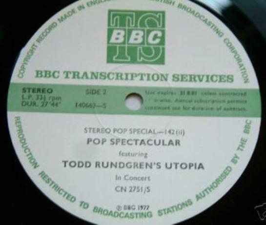 Rundgren BBC LP