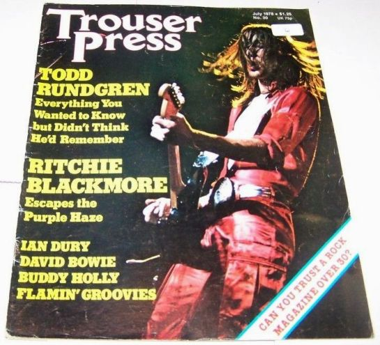 Trouser Press July '78