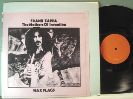 Zappa Wax Flags blank