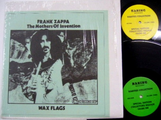 Zappa Wax Flags Raring 2