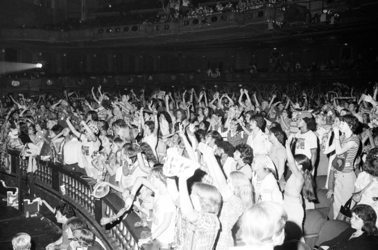 Bay City Rollers at the Uptown Theathre August 27, 1976.