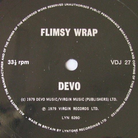 Devo Flimsy Wrap