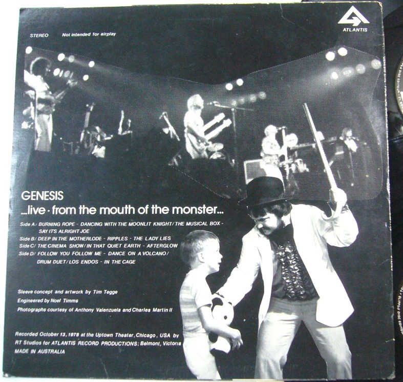 GENESIS '...live - from the mouth of the monster...' at the UPTOWN Theatre, Chicago (2/6)