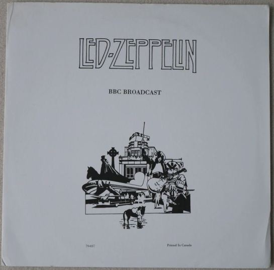 Led Zep BBC Broadcast