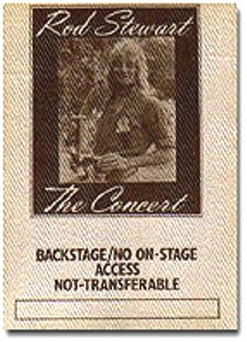 Rod Stewart 77_backstage