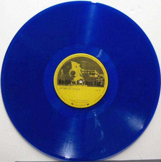 Rolling Stones Summer Reruns red blu RR 1