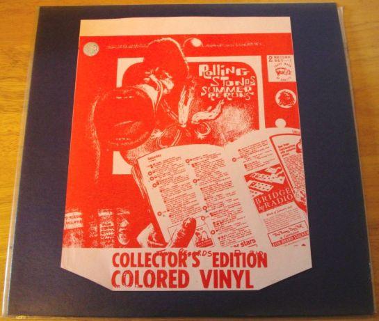 Rolling Stones Summer Reruns red blu RR CECV