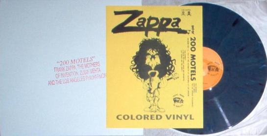 Zappa 200 Motels stamp