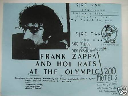 Zappa at Olympic bi