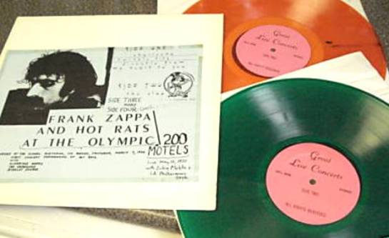 Zappa at Olympic