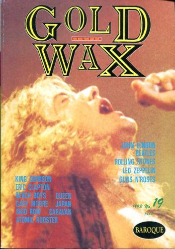Gold Wax 19