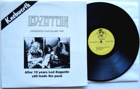 Led Zep Knebworth Fair V 2