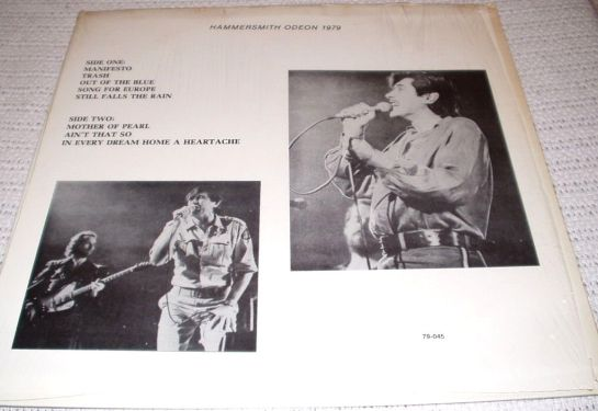 Roxy Music Hammersmith 79 b