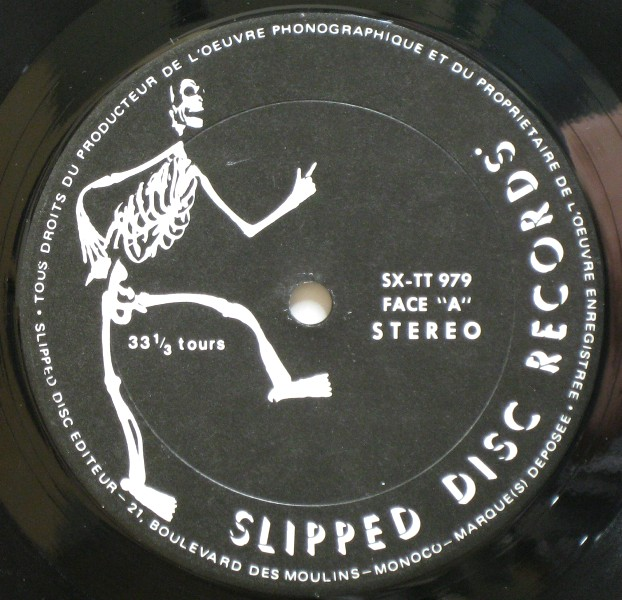 Slipped Disc lbl