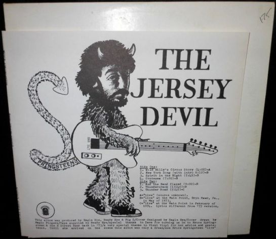 Springsteen Jersey Devil sm