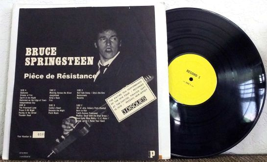 Springsteen PdR numbered box