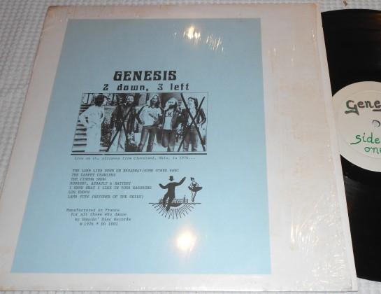 Genesis 2 Down 3 Left