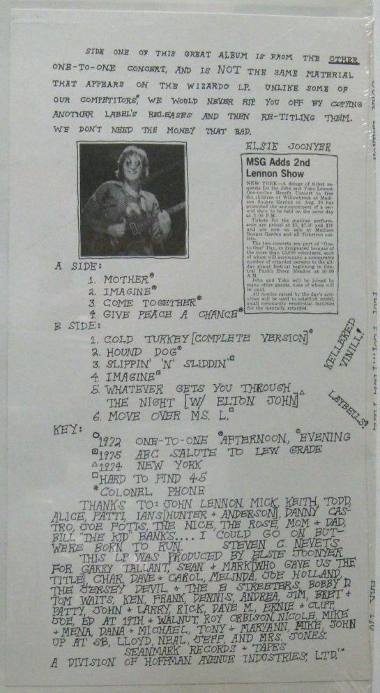 Lennon PPFFizz b detail