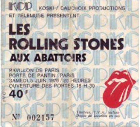 Rolling Stones Abattoirs 76