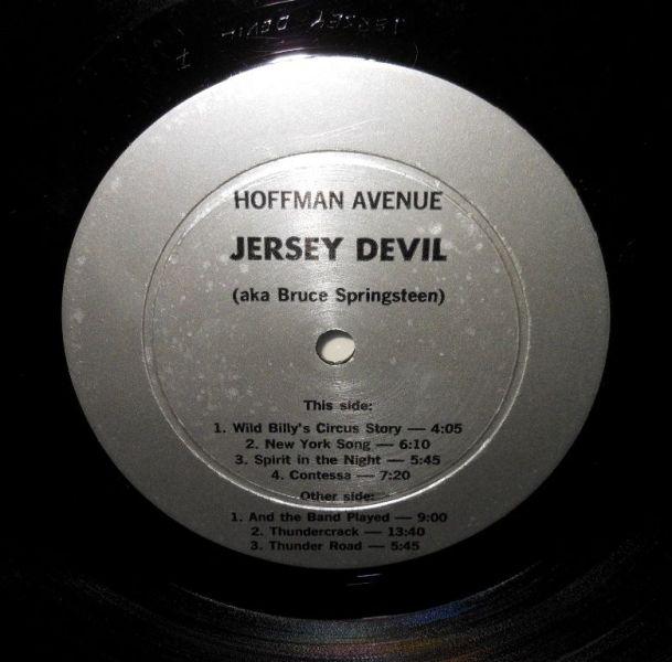 Springsteen Jersey Devil lbl