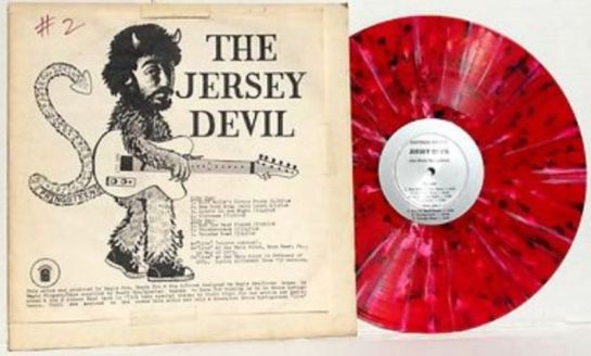 Springsteen Jersey Devil red mcv