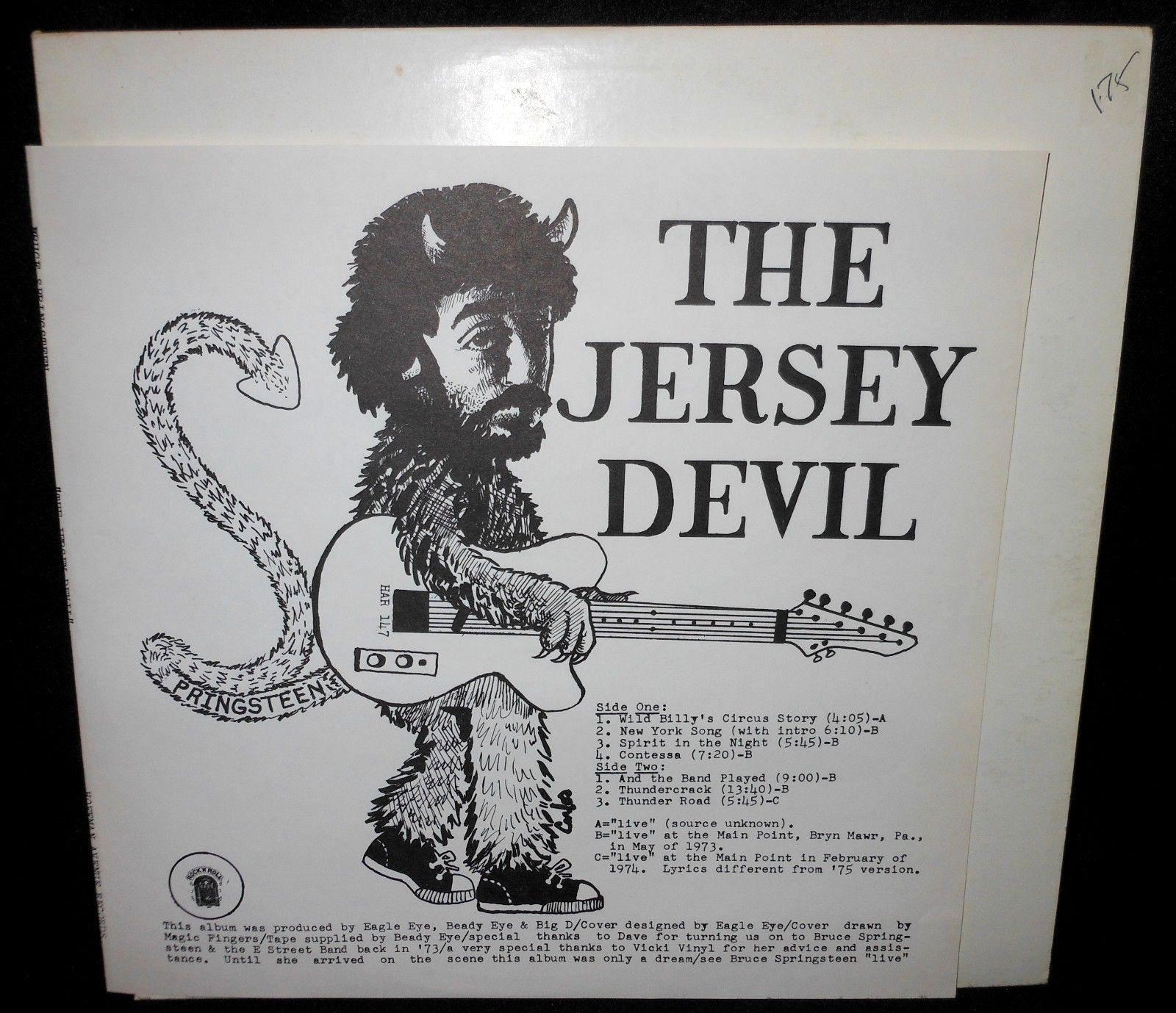 Springsteen Jersey Devil