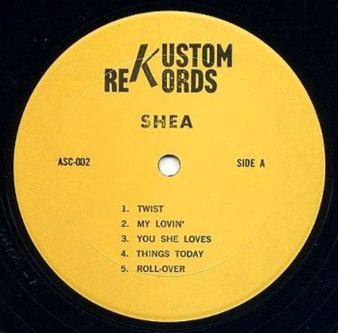 Beatles Shea TGOD Kustom label